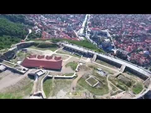 Kalaja e Prizrenit (Burg/Festung von Prizren) Drone 4K