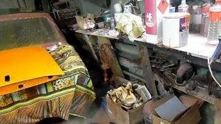 Замена  ветрового стекла  ВАЗ 2110,часть 2