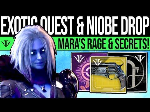 Destiny 2 | NEW EXOTIC QUESTS & NIOBE MYSTERY! Mara's Rage, Lab Updates, Secret Area, TLW & More