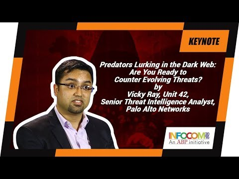 Vicky Ray, Unit 42, Senior Threat Intelligence Analyst, Palo Alto Networks at INFOCOM Calcutta 2016