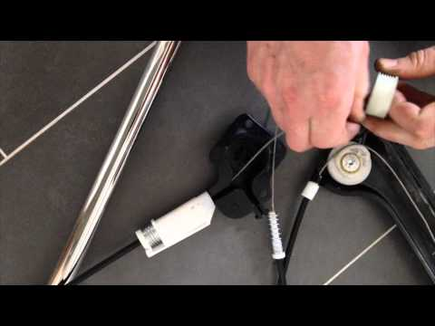 Z4 E85 Window Regulator Cable Replacement Youtube