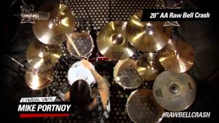 "Cymbal Vote - Mike Portnoy - Demo - 20"" AA Raw Bell Crash"
