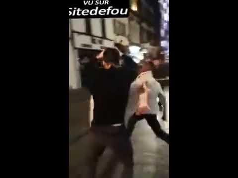 Bagarre générale violente Londres