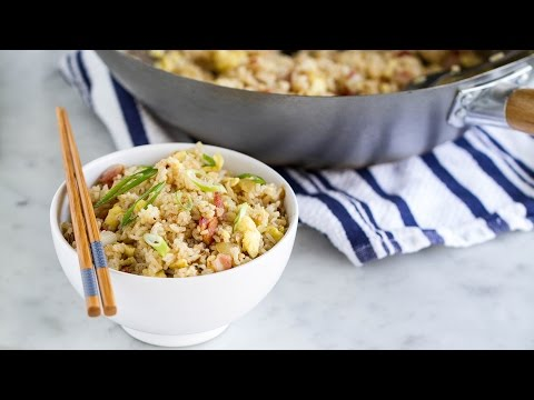bacon and egg rice