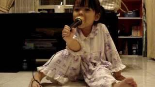 ร้องเพลงคาราโอเกะหนอนผีเสื้อ