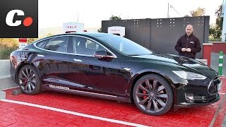 Tesla Model S | Prueba / Análisis / Test / Review en español | coches.net