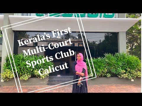 ESTADIO//#Kerala's First Multi-court Sports club//#Cafe,#footballturff,#Badmintoncourt #calicut