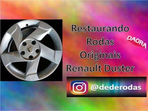 Tutorial reforma de rodas Renault DUSTER aro 16 | Ficou Top!! Dedé rodas