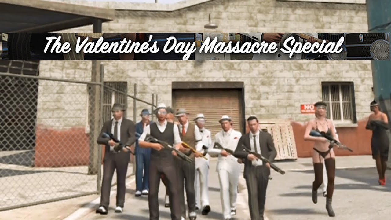 Gta V Valentines Day Massacre Dlc Machinima Role Play Youtube