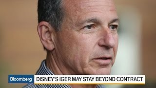 Disney's Iger Says He'll Do What's Best for Company