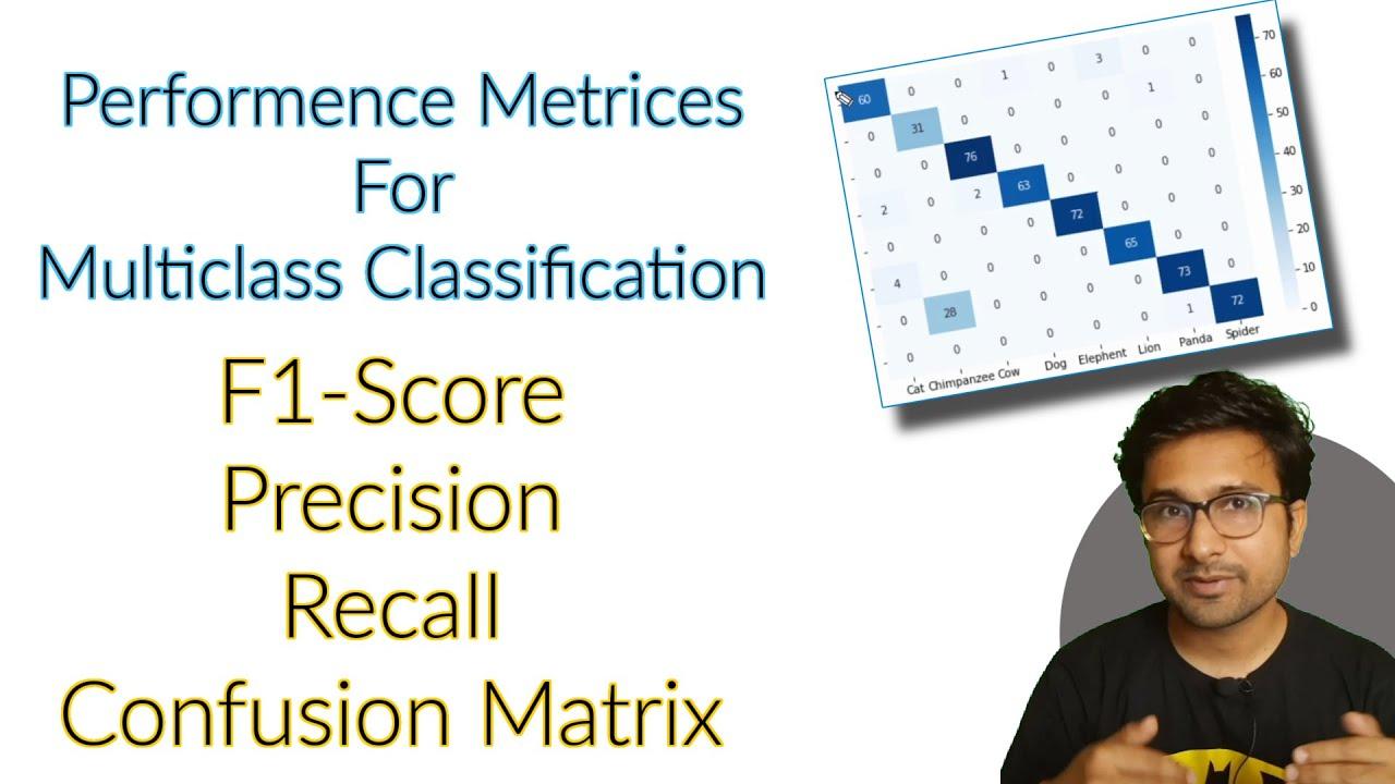 Write your own function for Multiclass Classification Confusion Matrix, F1  Score, Precision, recall