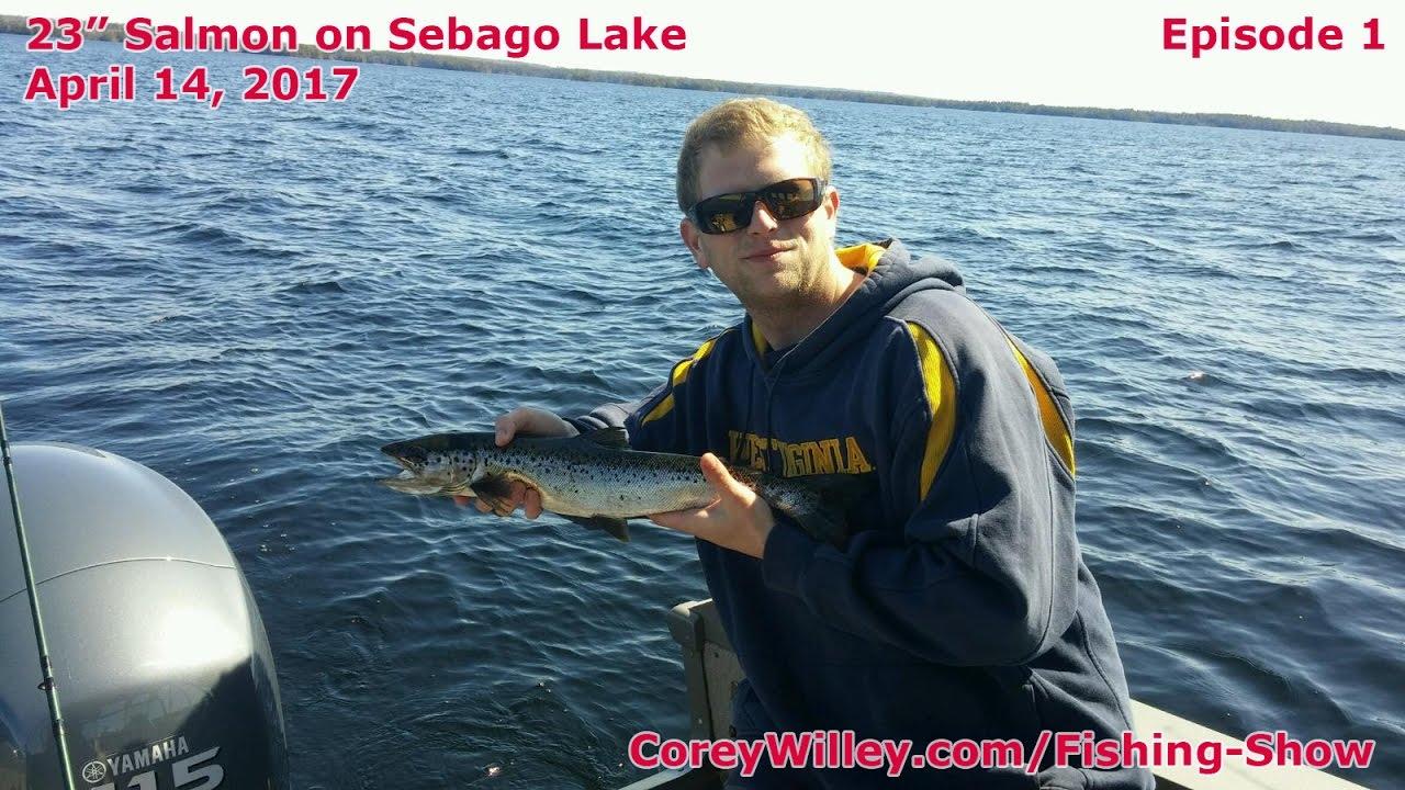 Best salmon fishing sebago lake lake trout sebago lake for Trout fishing near me