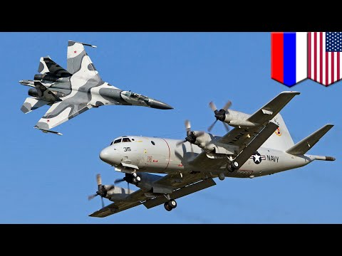 Russia vs US: Russian fighter jet flies within 5 feet of US plane over Black Sea - TomoNews