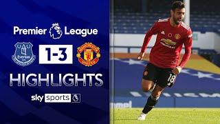 Fernandes & Cavani goals help ease pressure on Solskjaer! | Everton 1-3 Man Utd | EPL Highlights