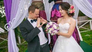 Это что-то! Русско-китайская свадьба. Китай и Россия могут, не только дружить, но и любить!