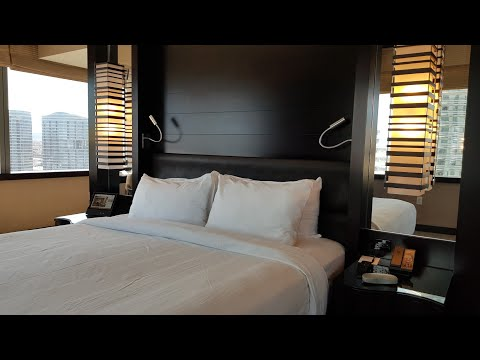 Vdara Hotel & Spa Las Vegas (Panoramic Suite 30001) Room Tour 25th March 2018