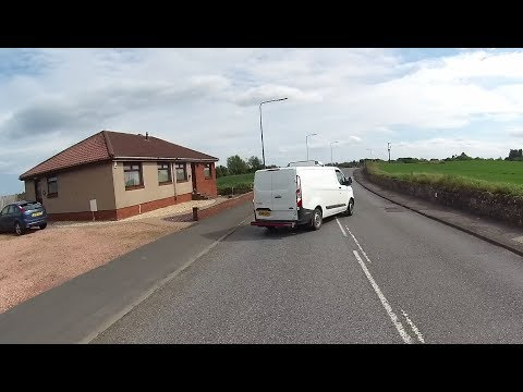 Cycling Fife - Crazy drivers all within 2 hours (NSFG)