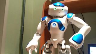 Диалог с роботом NAO