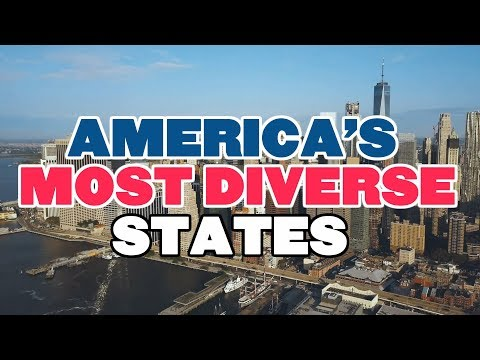 The 10 MOST DIVERSE STATES In AMERICA