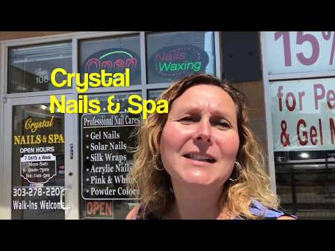 Crystal Nails & Spa with Chrissie Hopper