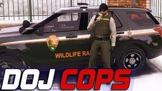Dept. of Justice Cops #616 - Wildlife Ranger
