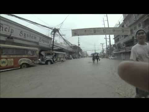 2013 08 19 Typhoon Maring, Flooding in Biñan, Laguna