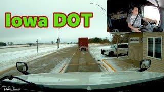 Iowa Dot What Does He Want Today Trucker Rudi 12-04-18 Vlog#1612