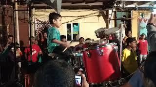 Majhe Aaiche Palkhila On Banjo    4 Years Old Boy Play Roto