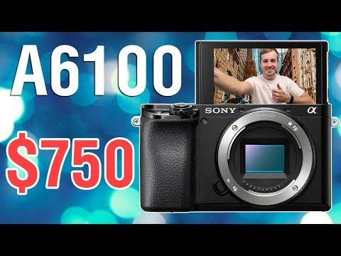 Sony A6100 - Первый взгляд