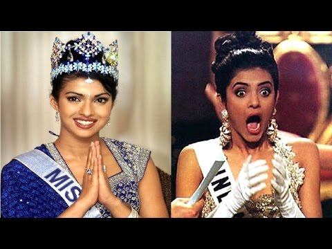 Top 10 Bollywood Actresses Who Won the Crown of Miss India & Miss World