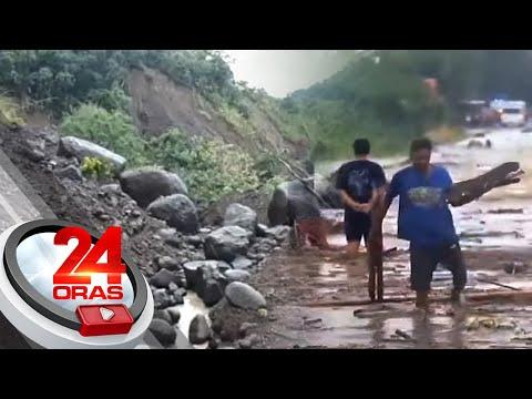 Baha at landslide, nanalasa sa ilang probinsya sa Northern Luzon   24 Oras