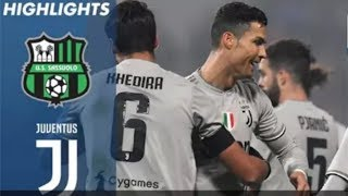 Sassuolo 0-3 Juventus Macth Highlights