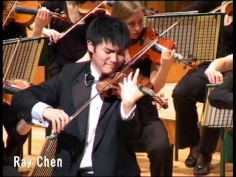 Ray Chen at the Senior Finals of the Menuhin Competition Cardiff 2008