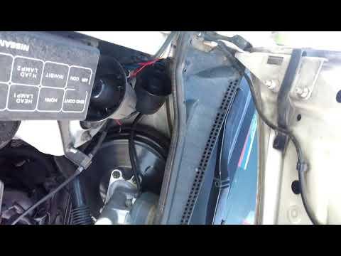Высокие обороты после замены ДЗ Nissan Bassara 1