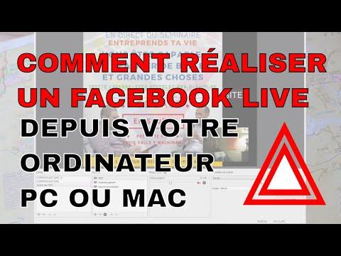 Comment réaliser un facebook live depuis votre ordinateur - Hangout avec OBS Open Broadcaster