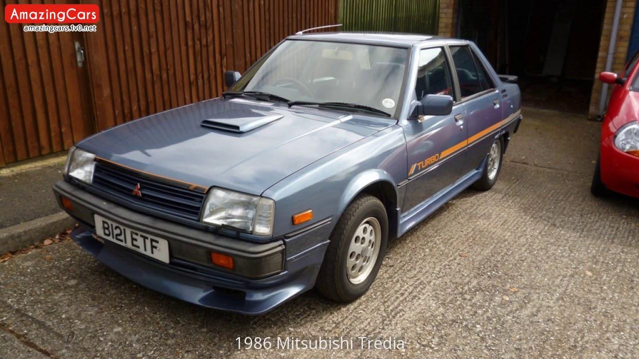 1986 Mitsubishi Tredia Youtube