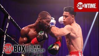 Brandun Lee With An Insane KO of Samuel Teah In Round 3   SHOBOX: THE NEW GENERATION