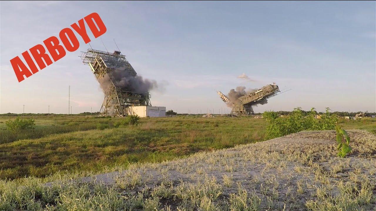 В США взорвали стартовые площадки для пуска ракет на мысе Канаверал