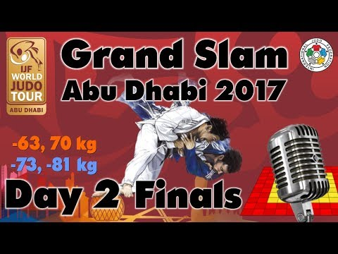 Judo Grand-Slam Abu Dhabi 2017: Day 2 - Final Block