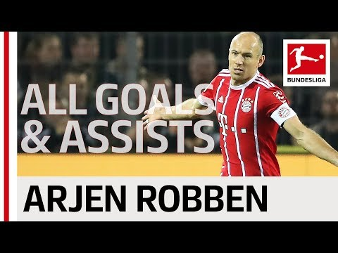 Arjen Robben - All Goals and Assists 2017/18