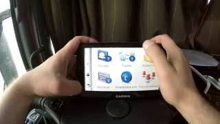 GPS навигатор Garmin dezl 760LMT (2 часть). Как правильно настроить навигатор?!