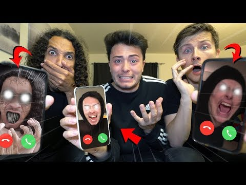 CALLING OUR EVIL TWINS ON FACETIME AT 3 AM!! (THEY TAKE OUR YOUTUBE CHANNELS)