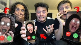 CALLING OUR EVIL TWINS ON FACETIME AT 3 AM THEY TAKE OUR YOUTUBE CHANNELS