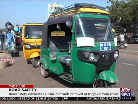 Road safety advocates Ghana demands removal of tricycles