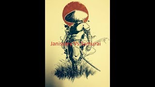 Game AOE 3  Janissary Vs Samurai - The Blade Call The Death - Súng thắng hay kiếm sẽ thắng??