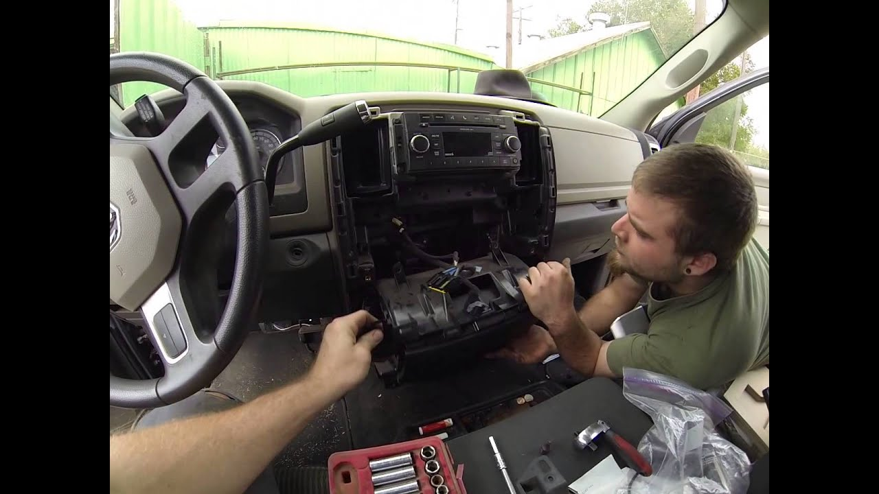 How to replace a blend door actuator on a 2010 dodge ram