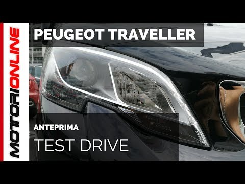 Peugeot Traveller MY 2017 | Test Drive in Anteprima