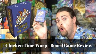 Chicken Time Warp - Board Game Review