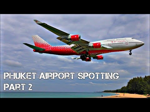 Incredible Beach Planespotting at Phuket International Airport, Thailand! | PART 2