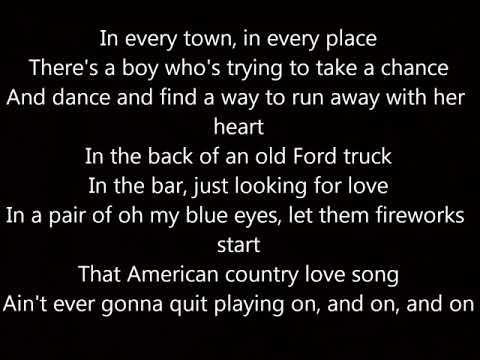 Jake Owen American Country Love Song Lyrics